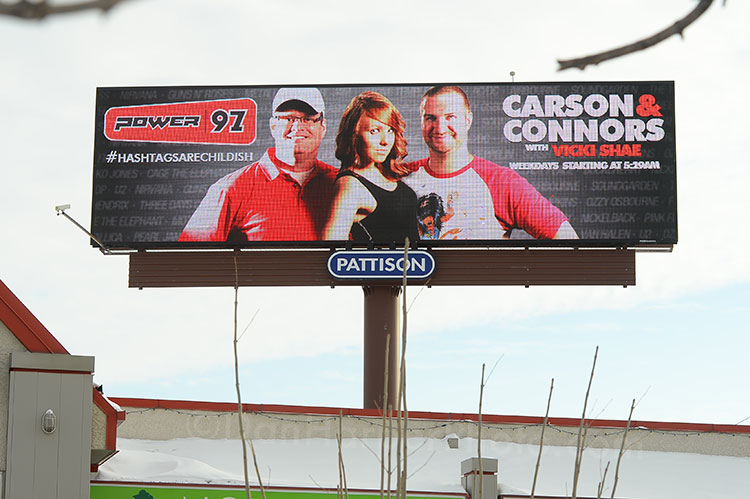 Power97 billboard ad