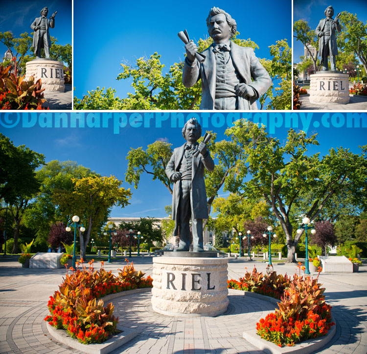 louis riel stock photo