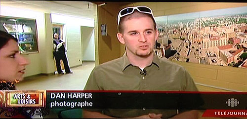 Dan Harper CBC gallery interview