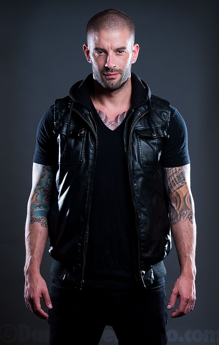 Darcy Oake promotional photography
