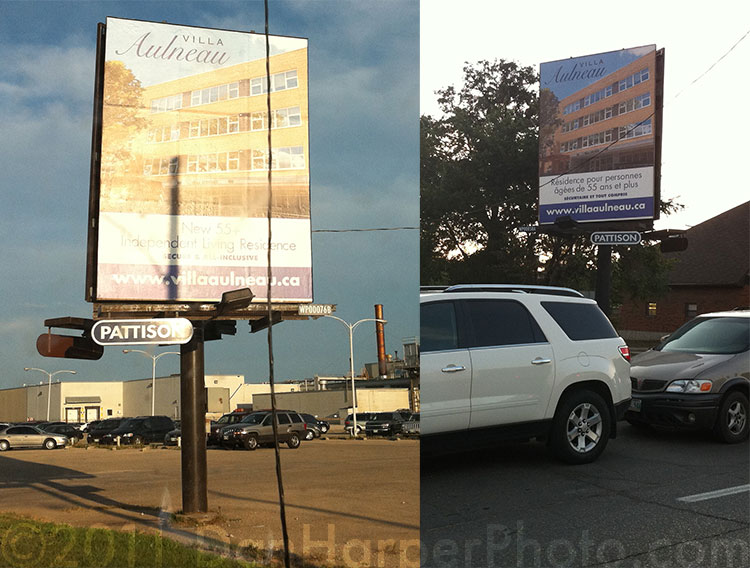Villa Aulneau Billboards