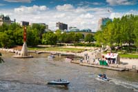 stock photography: st boniface bridge, the forks